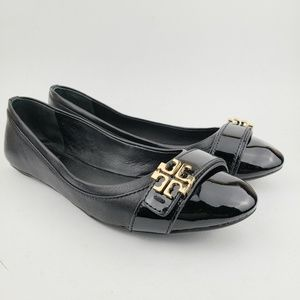 Tory Burch Leather Ballet Flats Slip On's …